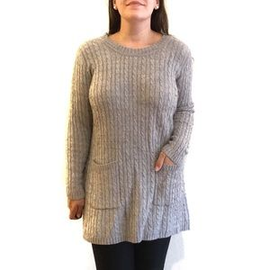 Fenn Wright Manson Cable Knit Tunic Sweaters Plus